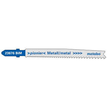 "Пилочка для лобзика по металлу, серия ""pionier"", T123X, 74мм, 25 шт. (623620000)"